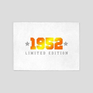 Limited Edition 1952 Birthday 5'x7'Area Rug