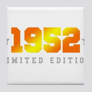 Limited Edition 1952 Birthday Tile Coaster
