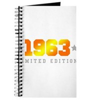 Limited Edition 1963 Birthday Journal