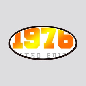 Limited Edition 1976 Birthday Patch