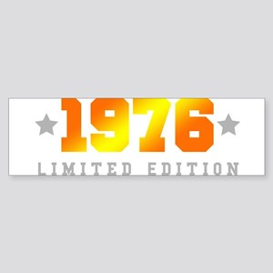 Limited Edition 1976 Birthday Bumper Sticker