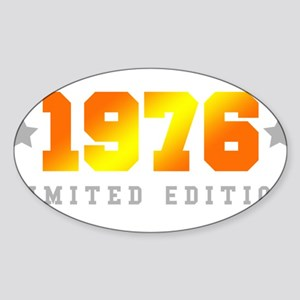 Limited Edition 1976 Birthday Sticker
