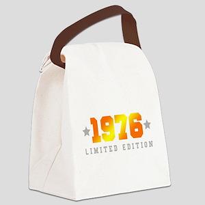 Limited Edition 1976 Birthday Canvas Lunch Bag