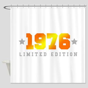 Limited Edition 1976 Birthday Shower Curtain