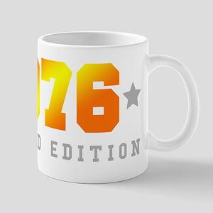 Limited Edition 1976 Birthday Mugs