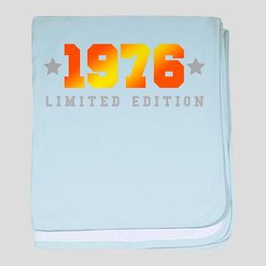 Limited Edition 1976 Birthday baby blanket