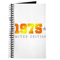 Limited Edition 1975 Birthday Journal