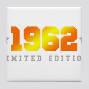 Limited Edition 1962 Birthday Tile Coaster