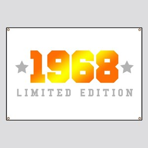 Limited Edition 1968 Birthday Banner