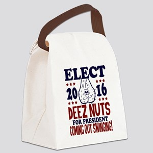 Deez Nuts For President 2016 Canvas Lunch Bag