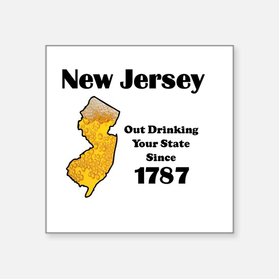 New Jersey is better then you Sticker