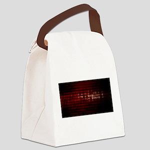 Digital Security a Canvas Lunch Bag