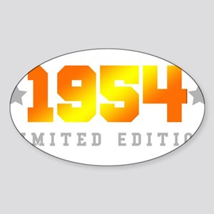 Limited Edition 1954 Birthday Sticker