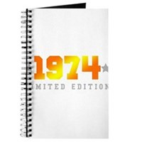 Limited Edition 1974 Birthday Journal