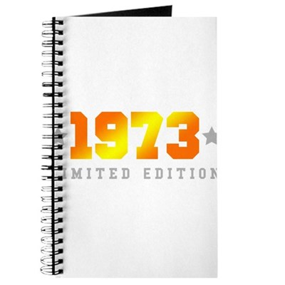 Limited Edition 1973 Birthday Journal