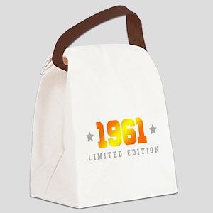 Limited Edition 1961 Birthday Canvas Lunch Bag