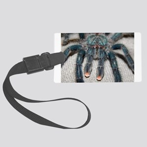 blue tarantula Luggage Tag