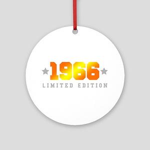 Limited Edition 1966 Birthday Round Ornament