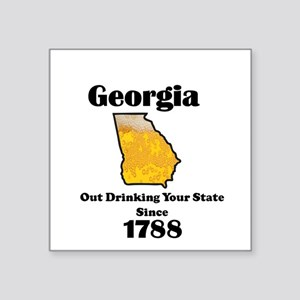 Georgia is better then you Sticker