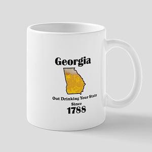 Georgia is better then you Mugs