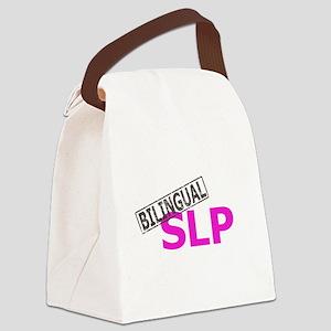 bilingual6 Canvas Lunch Bag