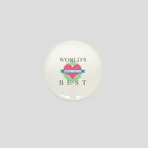 World's Best Stepmother Mini Button