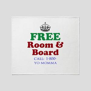 FREE Room Board Throw Blanket