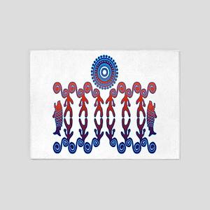 Tribal Life 5'x7'Area Rug