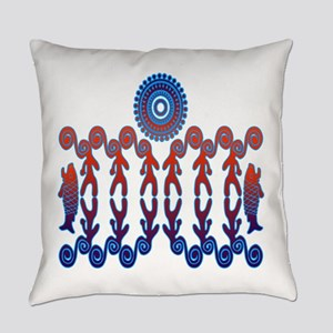 Tribal Life Everyday Pillow