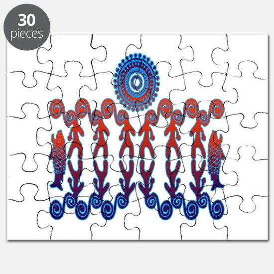 Tribal Life Puzzle