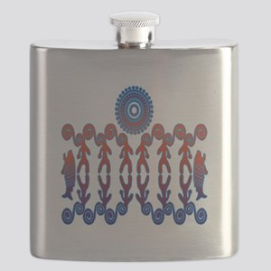 Tribal Life Flask