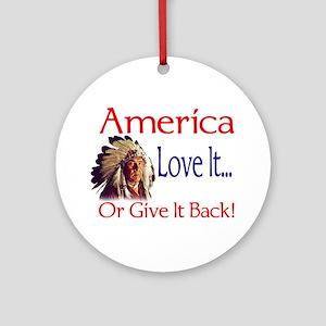 America Ornament (Round)