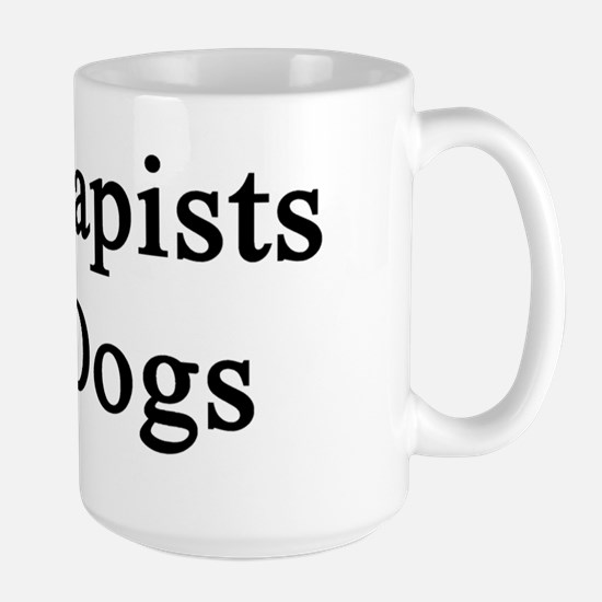 Kill Rapists Not Dogs  Large Mug
