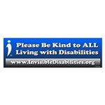 Please Be Kind To All Bumper Sticker