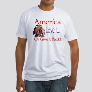 America Fitted T-Shirt