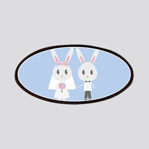 bunny wedding Patch