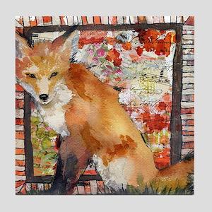 Fox Tile Coaster