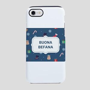 xmas buona Befana iPhone 8/7 Tough Case