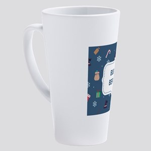 xmas buona Befana 17 oz Latte Mug