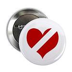 'Heartless Valentine' Button (10 pack)