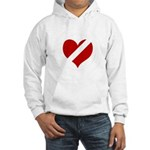 'Heartless Valentine' Hooded Sweatshirt