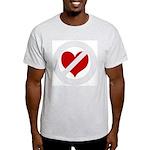 'Heartless Valentine' Ash Grey T-Shirt