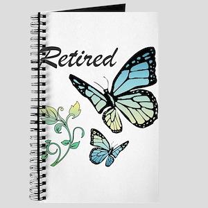 Retired w/ Butterflies Journal