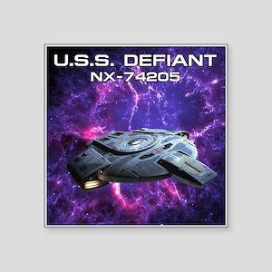 """DEFIANT PIA17563 Square Sticker 3"""" x 3"""""""