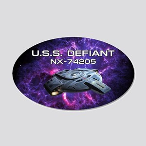 DEFIANT PIA17563 20x12 Oval Wall Decal