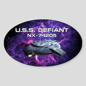 DEFIANT PIA17563 Sticker (Oval)