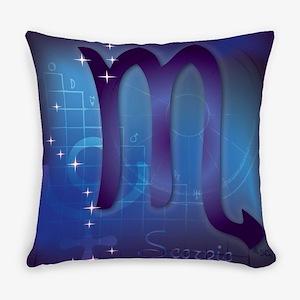 Scorpio Everyday Pillow