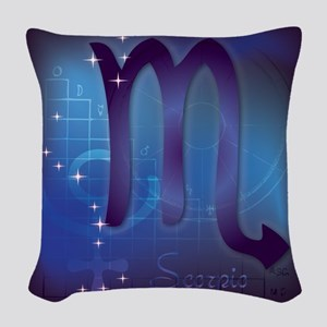 Scorpio Woven Throw Pillow
