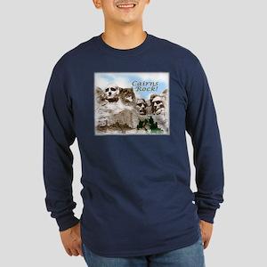 Cairns Rock Long Sleeve Dark T-Shirt