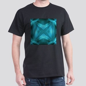 abstract teal geometric pattern T-Shirt